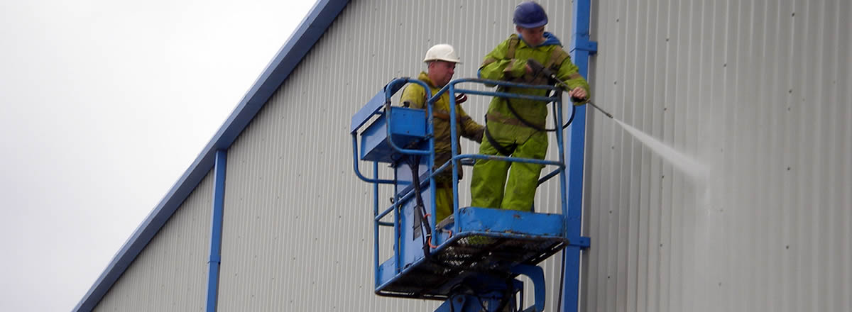 industrial cladding cleaning Southport
